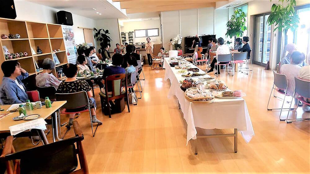 協同センター「デポー・カフェ」での交流会