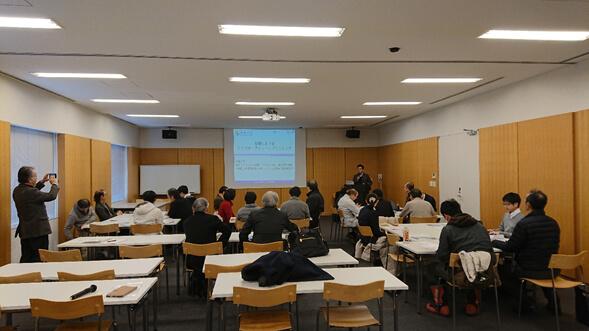2019年2月置賜自給圏推進機構と山形大学・東京大学との研究会